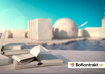 Animerad reklamfilm – Bokontrakt