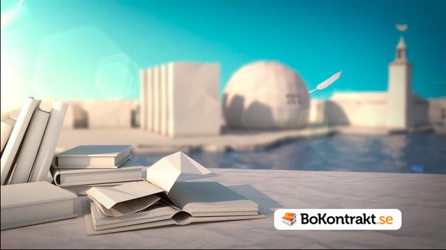 Bokontrakt – Animerad reklamfilm