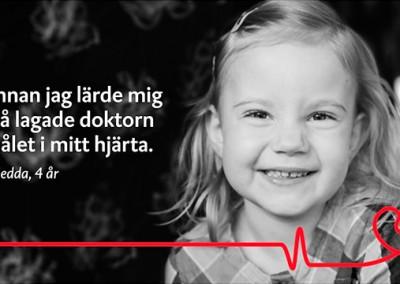 Hjärt och Lungfonden – Videoannons