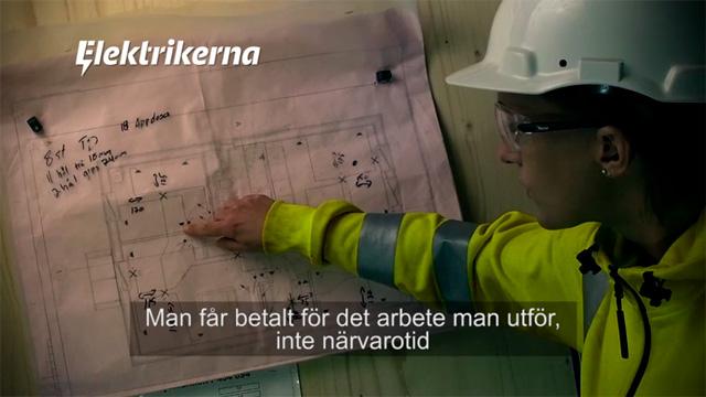 Elektrikerförbundet – Videoannons