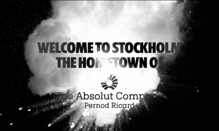 Videoannons – Absolut / Welcome